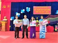 Tham dự và tặng quà nhân dịp Lễ khai giảng năm học mới 2018-2019